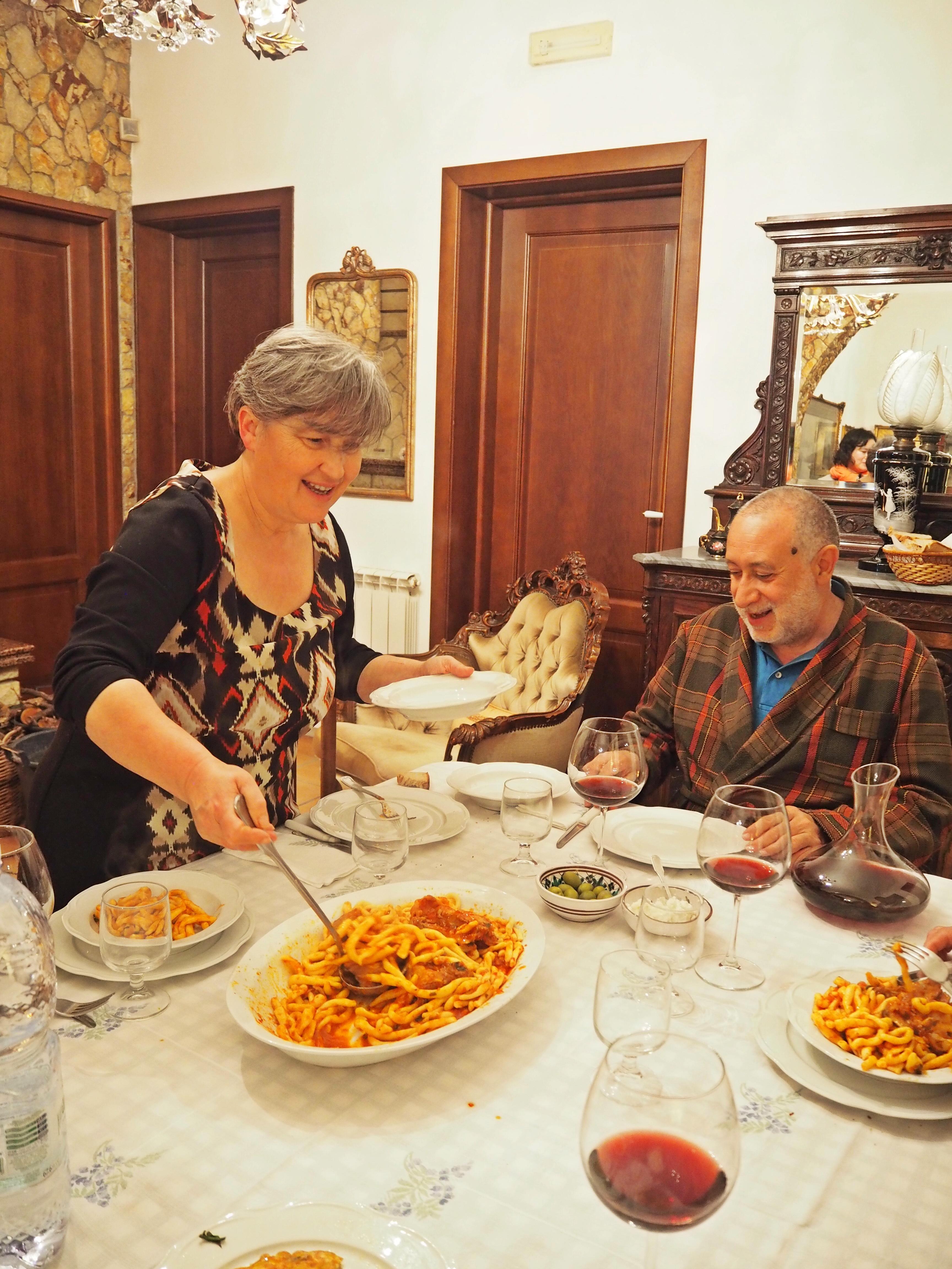 マンマにお祝い料理を習おう!